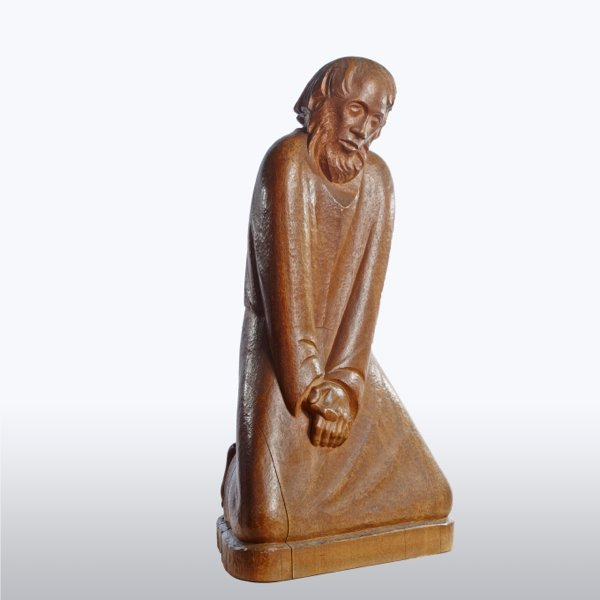 Ernst Barlach: The Doubter