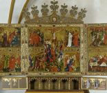 High altar of the Antonite church in Tempzin