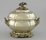Tureen from the table service of the Grand Duke of Mecklenburg-Schwerin