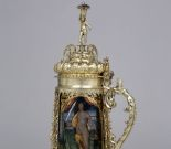 Tankard with depictions of heroic female figures from the Old Testament